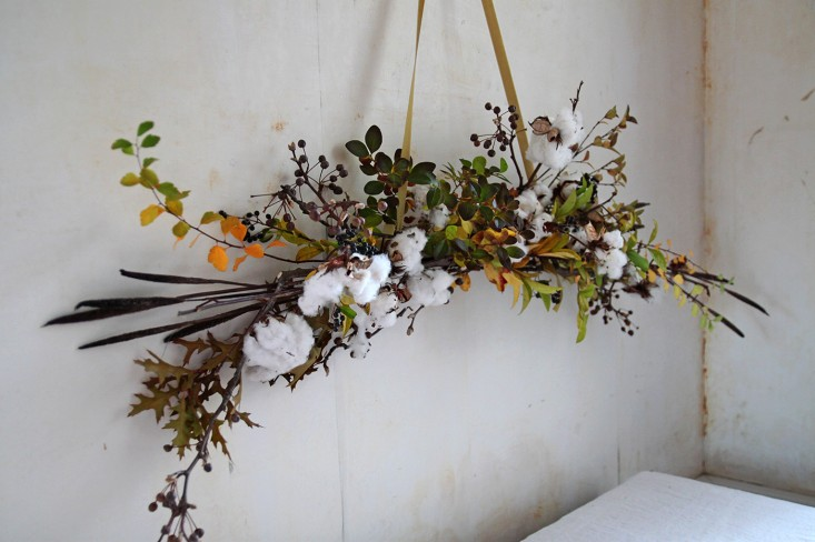 DIY Cotton Garland, detail 7, by Justine Hand for Gardenista