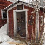 Woodstock, VT milkhouse turned chicken coop