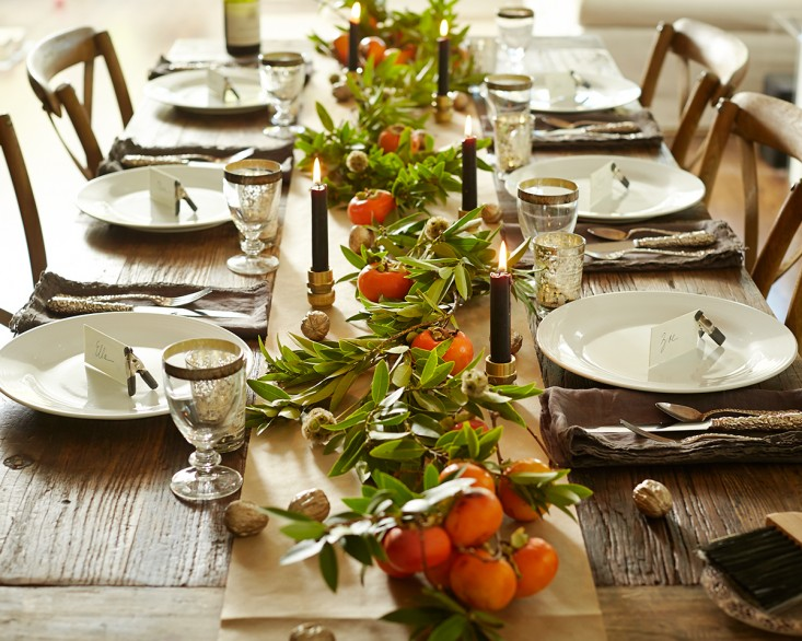 steal this look thanksgiving tabletop from the garden l Gardenista